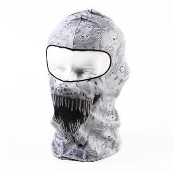 Balaclava Full Face Mask - English Teeth Design - SKU GRL-ENGLISHTEETH-BALA-HI