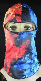 Balaclava Full Face Mask - Fire Design - SKU GRL-FMU10-HI