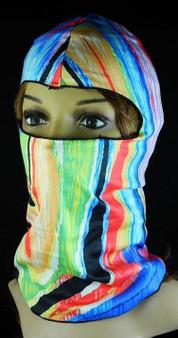Balaclava Full Face Mask - Rainbow Design - SKU GRL-FMU03-BALA-HI