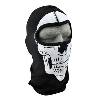 Balaclava Full Face Mask - Skull Design - SKU GRL-FMF18-WCB204-BALA-HI