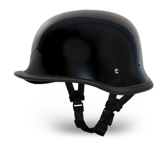 Big German High Gloss Novelty Motorcycle Helmet - SKU 1005A-DH