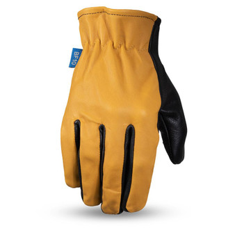 Born Free Roper Leather Motorcycle Driving Riding Gloves - BF211