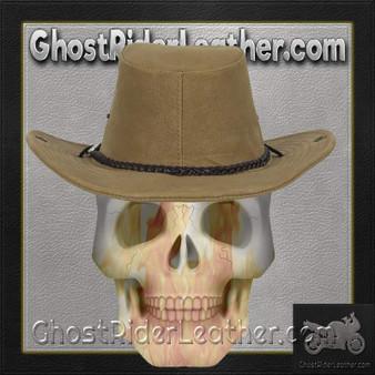 Brown Cowboy Hat / SKU GRL-HAT11-DL