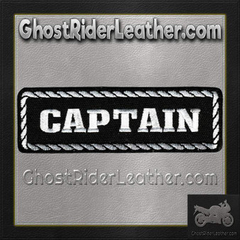 Captain Vest Patch - SKU GRL-PPD1010-HI