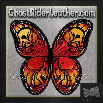 Colorful Butterfly Vest Patch - SKU GRL-PPA8320-HI