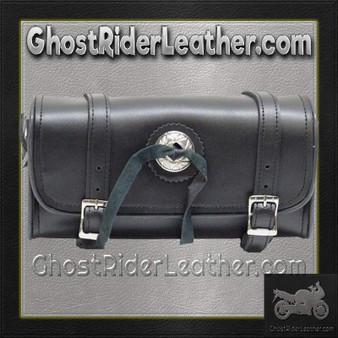 Concho PVC Motorcycle Tool Bag - Fork Bag 10 or 12 Inch / SKU GRL-TB3004-DL