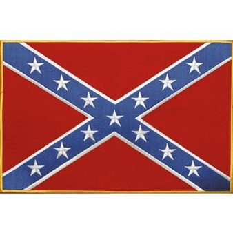 Confederate Flag Patch - Rebel Flag Patch - SKU GRL-PAT-B103-DL
