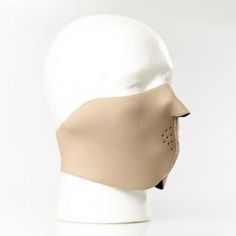 Coyote Tan Neoprene Half Face Mask - SKU GRL-FMY10-HI