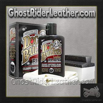 Doc Bailey's Leather Black Cleaner and Conditioner Kit / SKU GRL-AL3350-AL