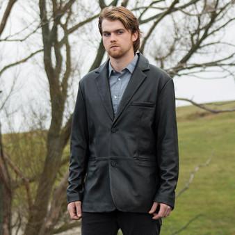 Esquire - Men's Leather Blazer Jacket - WBM6003
