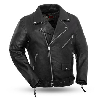 Fillmore - Men's Leather Motorcycle Jacket - SKU GRL-FIM208CDLZ-FM