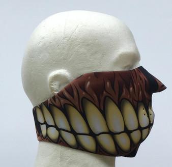 Gummy Face Neoprene Half Face Mask - SKU GRL-GUMMYFACE-HI