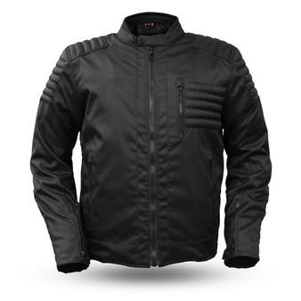 Invincible - Men's Cordura Motorcycle Jacket - SKU GRL-FIM285TEX-FM