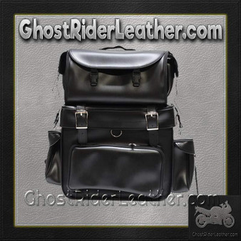 Large PVC Motorcycle Sissy Bar Bag / SKU GRL-SB002-DL