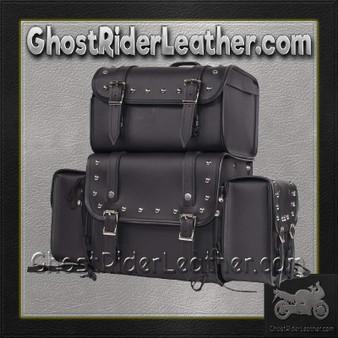 Large Sissybar Bag with Studs / SKU GRL-SB3-DL