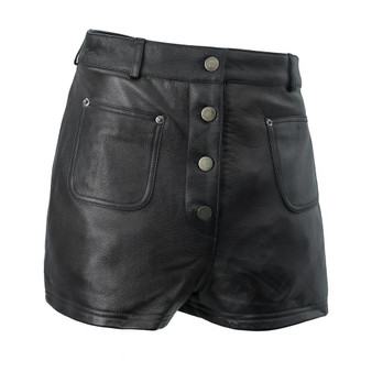 Maleni - Women's Leather Shorts