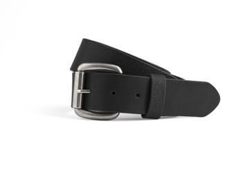 Men's Leather Belt in Black or Brown | FIMB16002