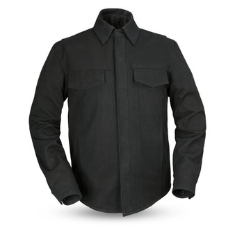 Mercer - Men's Canvas Motorcycle Shirt - SKU GRL-FIM417CNVS-FM