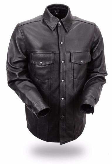 Milestone - Men's Motorcycle Leather Shirt