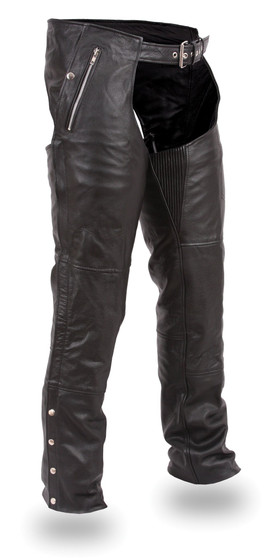 Patriot Men's Leather Chaps - SKU FIM840CSL-CDD-FM