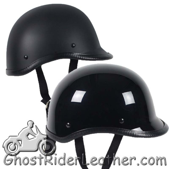 Polo Jockey Novelty Motorcycle Helmet Flat or Gloss - SKU GRL-POLO-NOV-HI