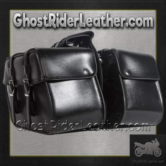 PVC Motorcycle Saddlebags / SKU GRL-SD4079-PV-DL