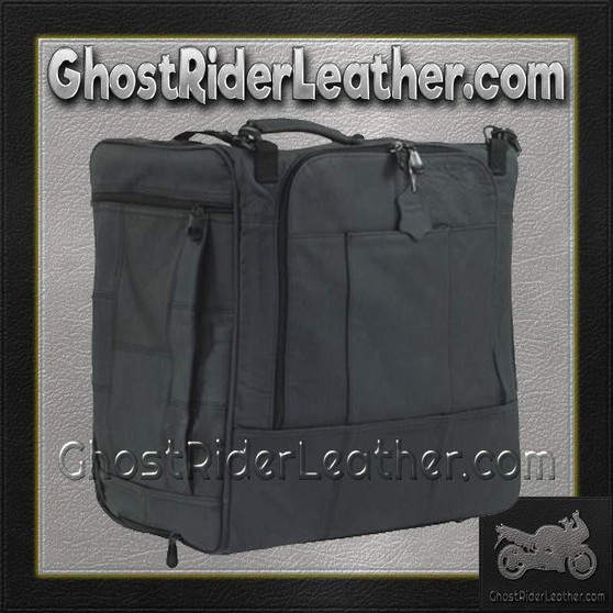 PVC Motorcycle Sissy Bar Bag / SKU GRL-SB108-DL
