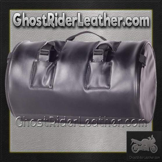 Round Motorcycle Sissy Bar Duffle Bag  / SKU GRL-SB4-DL