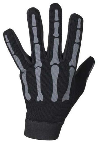 Skeleton Mechanics Gloves in Black and Gray - Similar to Storage Wars Barry Weiss - SKU GL2045-GREY-DL