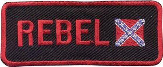 Small Confederate Flag Patch - Rebel Flag Patch - SKU GRL-PAT-E781-DL