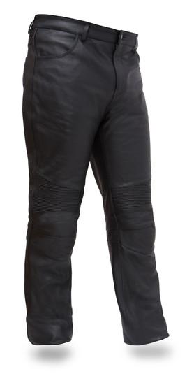 Smarty Pants - Mens Jean Style Leather Pants - SKU GRL-FIM834CSL-FM