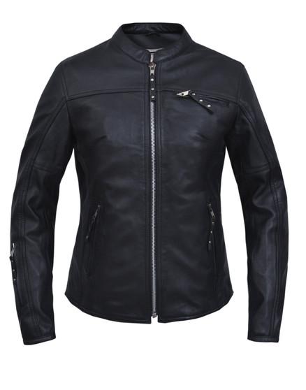 UNIK Ladies Premium Lambskin Leather Jacket 3
