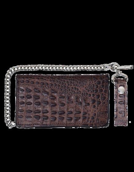 UNIK Leather Biker Chain Wallet 3