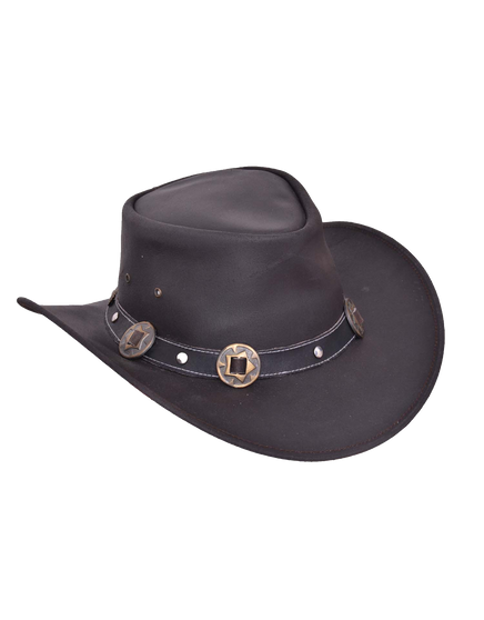 UNIK Leather Outback Hats 3