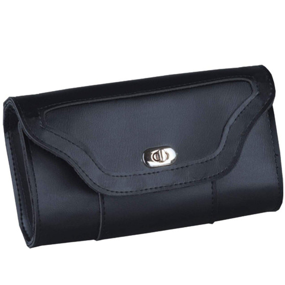 PVC Windshield Bag - Choice Of Plain or Studded or Braided - SKU 2852-PL/SD/BO-UN