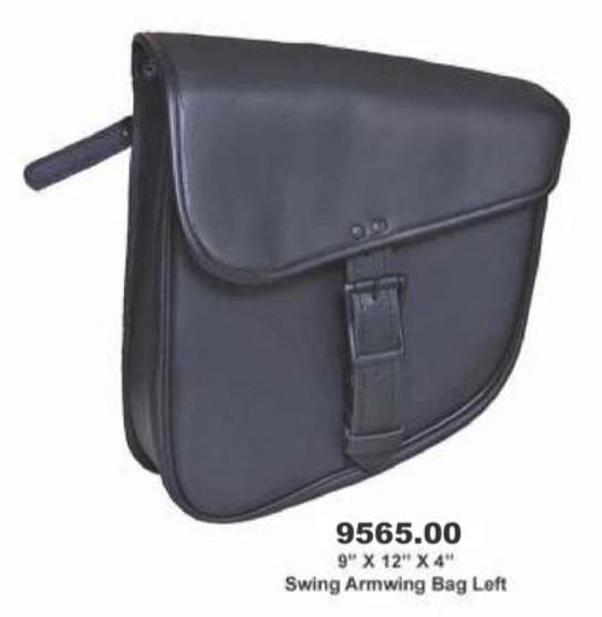 UNIK Swing Arm Bag Left Side - Motorcycle Storage - SKU 9565-00-UN