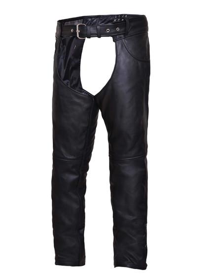 UNIK Unisex Premium Leather Motorcycle Chaps - SKU 720-K-UN