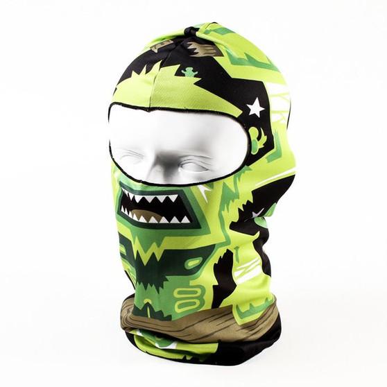 Balaclava Full Face Mask - Azteca Design - SKU GRL-AZTECA-HI