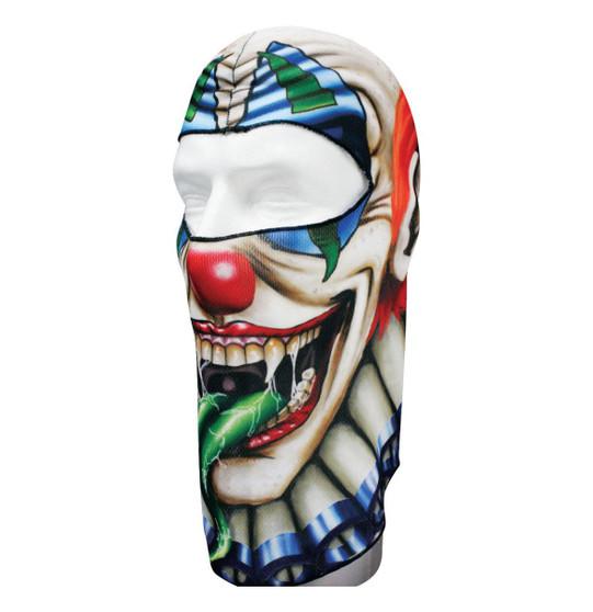 Balaclava Full Face Mask - Creep Clown Design - SKU GRL-CREEPCLOWN-HI
