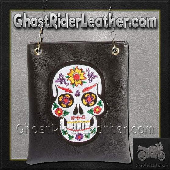 Casual Outfitters Ladies Sugar Skull Purse Handbag / SKU GRL-LUPURSKL-BF