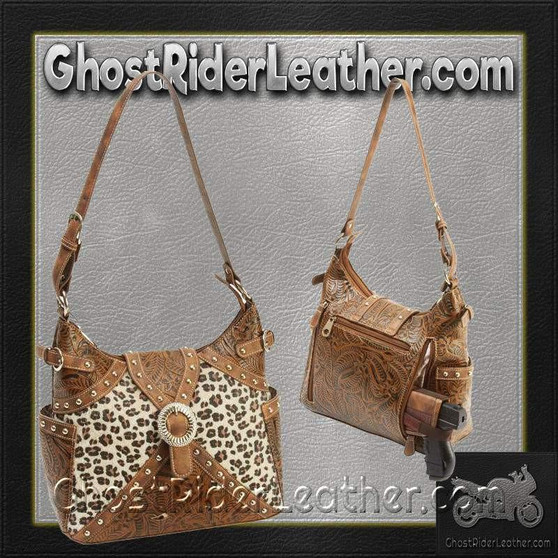 Casual Outfitters Western Style Concealed Carry Purse / SKU GRL-LUPWCHL3-BN