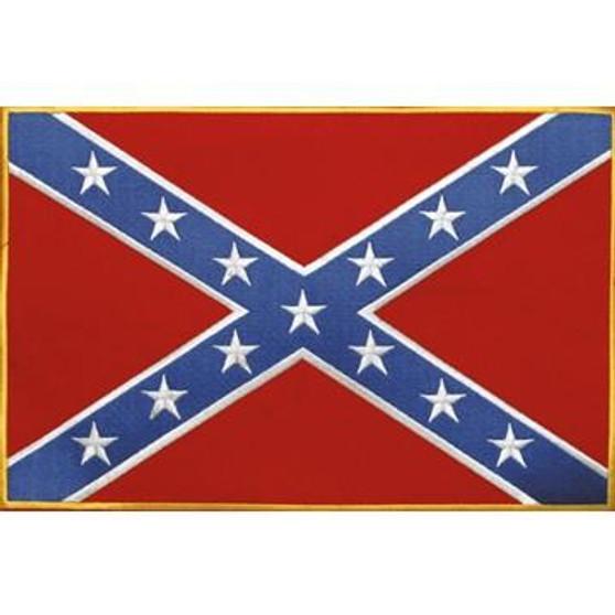 Confederate Flag Patch - Rebel Flag Patch - SKU GRL-PAT-B103-DL