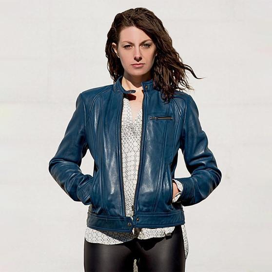 Favorite - Women's Leather Jacket - Many Colors - WBL1025