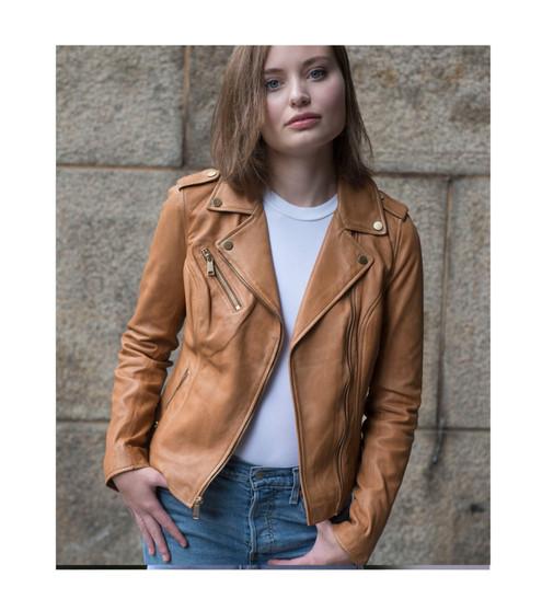 Harper - Women's Leather Jacket - WBL1393