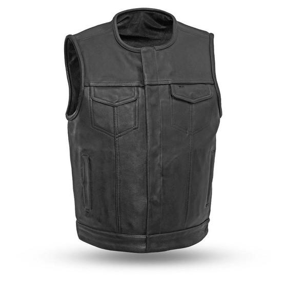 Highside - Men's Motorcycle Leather Vest