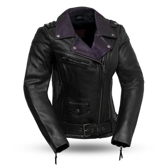 Iris - Women's Leather Motorcycle Jacket