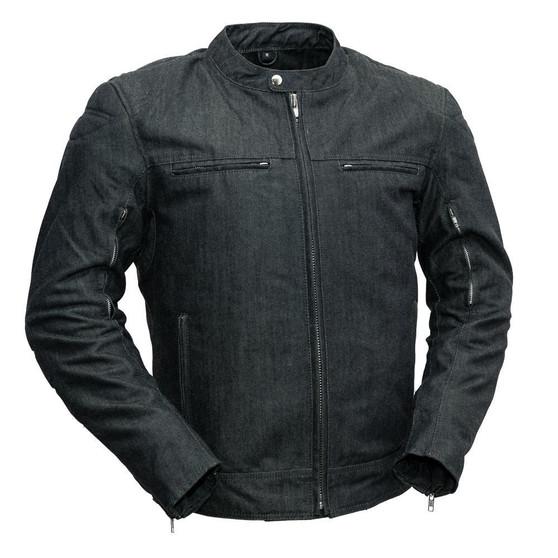 Kevlar® Weaved Motorcycle Jacket - SKU GRL-FIM279KWD-FM