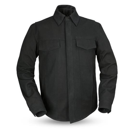 Mercer - Men's Canvas Motorcycle Shirt - SKU GRL-FIM417CNVS-FM