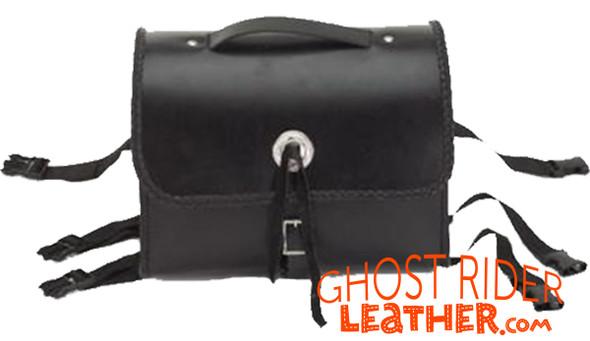 Sissy Bar Bag - Braid  - Motorcycle Gear Bags - SB5007-DL