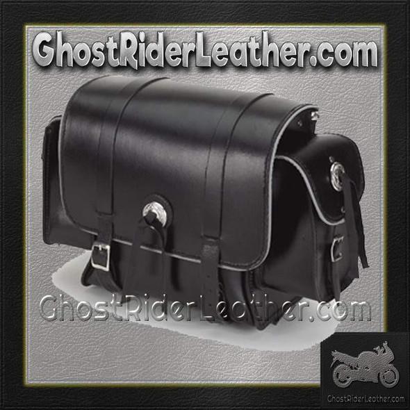 Motorcycle Sissy Bar Bag with Light Reflector  / SKU GRL-SB78-DL